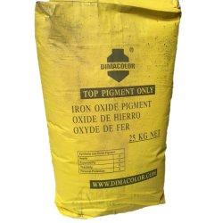 Therm Iron Oxide Yellow Y50 Pigment Yellow 42에서 분말을 나타냅니다 내열 기능이 좋은 코팅 플라스틱 고무