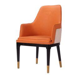 Hôtel nouvelle conception de meubles cuir synthétique Canapé ronde