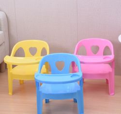 Crianças Cadeira de jantar cadeira de encosto de cadeira de bebé com braço de uma cadeira de amor se espessados pequena de plástico de fezes banco baixo por grosso