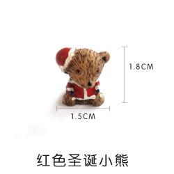 China Resina grossista figuras de cerveja de natal Mini frigorífico de Natal para decoração de férias de acessórios do magneto