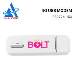 Lyngou LG114 Nuevo Color Blanco E8372 E8372H-153 150Mbps 4G LTE CAT 4 USB dongle WiFi móvil módem USB 4G LTE