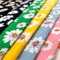 Moda textil tejida de algodón tejido de la impresión normal para el Hogar Productos textiles y prendas de vestir y muebles de Tela Tela