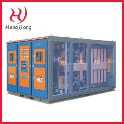 Livraison rapide de l'induction électrique industriel four de fusion de métal pour la fusion en aluminium/cuivre/laiton/bronze/fer à repasser/acier (50kg-5000kg)