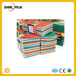 China Fornecedor Prato de lavagem de cozinha esponja Esfregões
