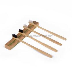 يمكن تخصيص الشعيرات الناعمة بواسطة شعار مقبض فرشاة الأسنان فرشاة أسنان بتقنية Bamboo للصور للسفر