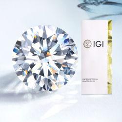 Месси Igi сертификат заводской вырезанной 0.5CT 1CT 1.5CT 2CT 2.5CT 3CT D VS1 Hpht CVD Lab Diamond