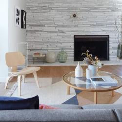 2020 Vorlagen-nordische Art-einfache Tee-Tisch-kleine Schlafzimmer-Wohnzimmer-Balkon-festes Holz-runde Form-Freizeit-kreativer Minitisch