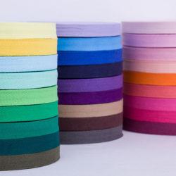 1cm breites buntes Tuch Gürtel Seil Bindung Baumwolle Fischgrät Webe Gürtel Accessorial Material Tasche Gürtel Tuch Piping Strip