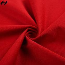 t-셔츠/의복을%s 57.7%Cotton 42.3%Polyester 직물을 분명히 뜨개질을 하는 날실