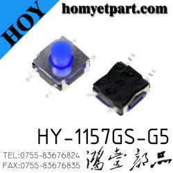 中国の工場表面取り付けの防水シリコーンは気転スイッチにボタンをかける