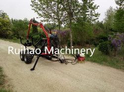 Het goedkope Voertuig van de Aanhangwagen van de Tractor van ATV /UTV met het Tippen de Prijs van de Doos