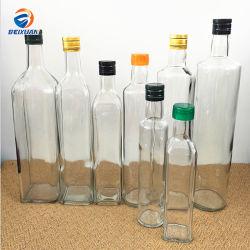250ml 500ml ao redor da praça e o azeite de dendê transparente da garrafa garrafa de vidro