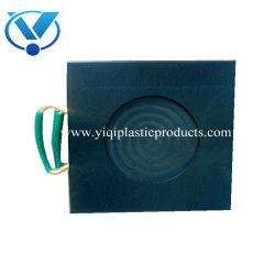 De plastic Weg plateert de Stootkussens van de Kraanbalk van de Steun van de Voet van de Kraan