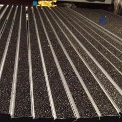 Het uitgedreven Antislip Betreden Besnuffelen van het Aluminium van het Carborundum Trede