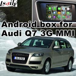 Caixa do Sistema de Navegação GPS Android para a Audi Q7 Video Interface MMI 3G