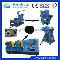 Automatische afvalband recycle-verwerkingsmachine / rubberen granuleerapparatuur