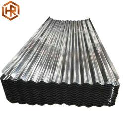 Tuile de carton ondulé recouvert de zinc Feuille d'acier galvanisé des matériaux de toiture