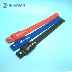 Formentwurf 125kHz&13.56Mkhz kombinierter RFID passiver LF NFC Silikon-Armband Combi Wristband HF-NTAG213 Hybird