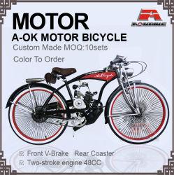 Motorbicycle Lowrider Suspension à ressort 48cc moteur moteur vélo Vélo-18-1 (MO)
