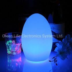 Eco Friendly voyant de changement de couleur en Plastique de moniteur de chevet petite lumière de nuit pour enfants avec contrôle intelligent
