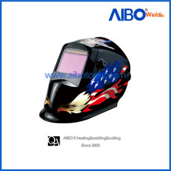 太陽電池(6S1014)が付いている自動Darkingの溶接のヘルメット