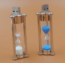 Diseño avanzado más reciente de mejor venta de buena calidad USB reloj de arena