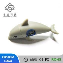 3D индивидуального дизайна перо USB Drive форма дельфинов Flash памяти Memory Stick™