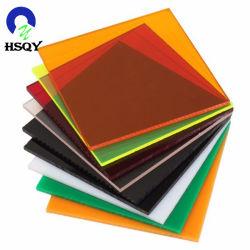 Cores disponíveis diferentes 2440x1220mm acrílico fosco personalizada