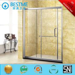 Les portes coulissantes Double Douche Aluminum-Alloy Partition (BL-L0009-P)