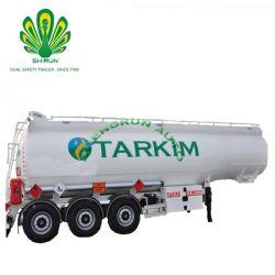 Chemische Vloeibare Tank om Vloeistof Sola van Hydrochloric Zuur van het Zwavelzuur Vervoer de Bijtende
