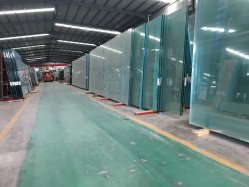 Alta Resistência Mecânica de segurança de vidro temperado dobrados Terraço guarda as portas do armário