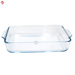 Caçarola de vidro para Bakeware Pan prato/Talheres/utensílios de cozinha/Mesa/Serveware