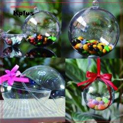 Navidad bola transparente, Material: plástico, Decoración de Navidad