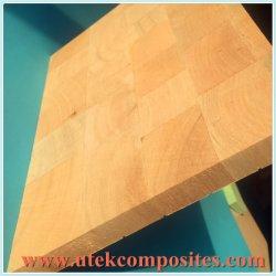 Panel de madera de balsa rígida para automóvil