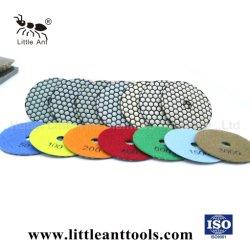 4'' du papier abrasif de haute qualité Diaomond outils Tampon à polir