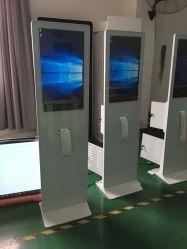27дюймовый емкостный сенсорный экран киоск с термопринтер