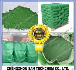 Ossido di ferro in pigmento verde per la pittura e la costruzione