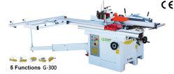 Ferramenta de máquina para trabalhar madeira Plaina Thicknesser e serraria Circular 5 em 1 máquina combinada de diagnóstico