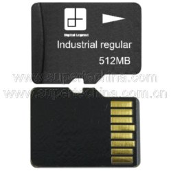 512MB SLC NAND-grelle industrielle Mikro Ableiter-Karte (S1A-3015D)