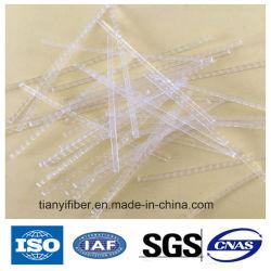 Bambus-Geformte Makrofaser-Faser Uesd des Polypropylen-pp. für Baumaterial