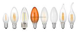 3.5W Ca17 CE 필라멘트 LED 캔들 조명