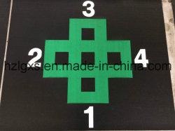 다채로운 체조 지면 고무 Rolls 또는 체조 지면 고무 도와