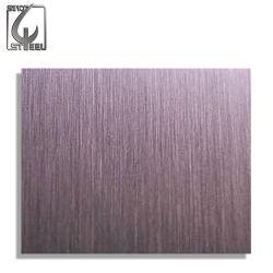 ASTM/AISI 301 Folhas/Placas de Aço Inoxidável com Superfície de Traço Fino