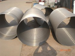 Tec-Sieve Wedge Wire Screen Cilindros-Diâmetro exterior 914mm
