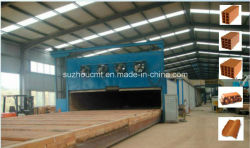 Máquina de tijolos de barro fábrica de linha/