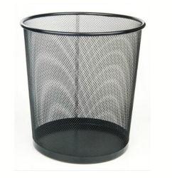 Grande de metal Mesh externa Lixeira, encaixa Standard sacos de lixo