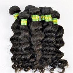 أنماط جديدة شعر طبيعي الإنسان ويفي عميق الموجة البرازيلية تمديدات الشعر العذراء LBH 102