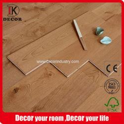 European Oak Natural Brushed Flooring Tile Wood Te Koop