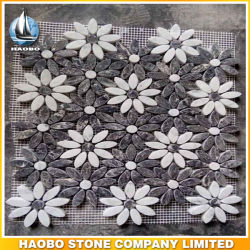 Nouveau modèle de carreaux de mosaïque pour la décoration motif de fleurs