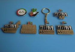 2016 ОАЭ магнит знак 45 ОАЭ национальный День Подарков Brooch магнита